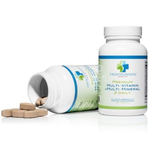 premium multi vitamin and multi mineral 2 daily bottles