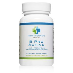 60 Vegetarian Capsules of B Pro Active Vitamin B Complex With Metafolin & Intrinsic Factor